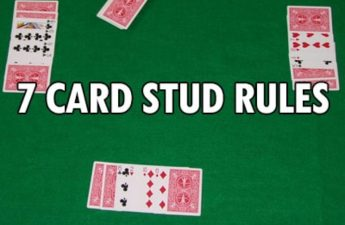 A Brief Instruction on Playing Seven Card Stud Poker
